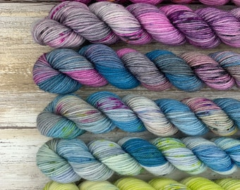 Cryptids Mini Skein Set #2 | Merino Wool Blend