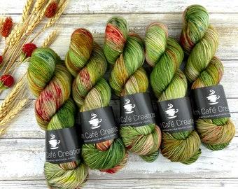 Polwarth DK Weight | 100% SW Polwarth Wool | Cherry Cuddler | Hand Dyed Yarn |