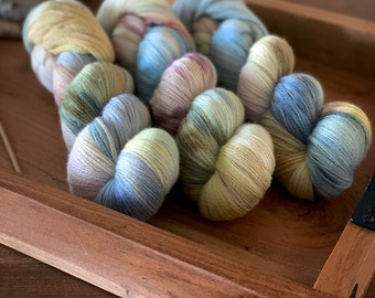 Lace Weight | Orchard | Non-Superwash | Hand Dyed Yarn