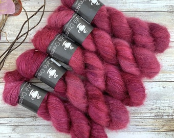 Jupiter | Mohair Silk | Hand Dyed Yarn