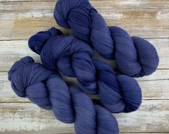 Undercurrent | Non Superwash Lace Weight | Hand Dyed Yarn |