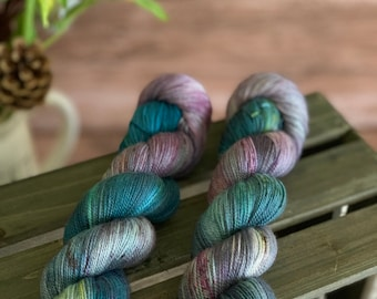 September Storm | Autumn Harvest Collection | Hand Dyed Yarn