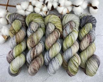 Veranda BFL DK Weight | 100% SW Blue-Faced Leicester Wool | Tumbleweed | Hand Dyed Yarn | Superwash wool