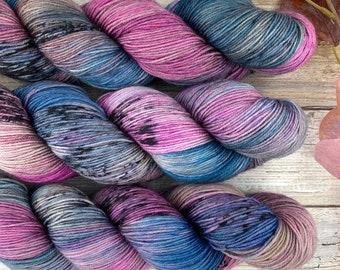 Mermaid Skater | Hand Dyed Yarn | Superwash Merino Wool