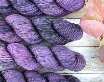 Gothic | Hand Dyed Yarn | Superwash Merino Wool
