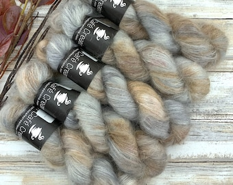 Thicket | Mohair Silk | Hand Dyed Yarn