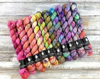 ONE-PLY Mini Skein Set | Complete Strawberry Shortcake Summer Collection