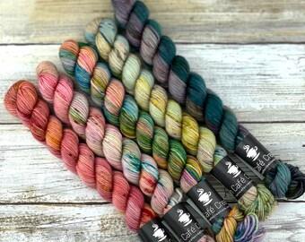 Autumn Harvest Mini Set   Merino Wool Blend