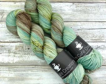 Hand-Dyed Yarn | Merino Wool | Earthy Collection | Prickly Pear