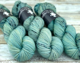 Worsted Weight | Sage Brush | Hand Dyed Yarn | Superwash wool
