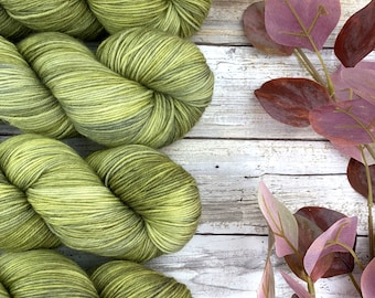 Pear | Hand-Dyed Yarn | Merino Wool