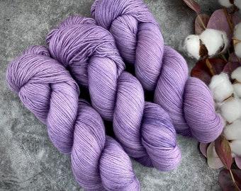 Fingering Weight | Sugqrplum | Hand Dyed Yarn | Non-Superwash Merino Wool