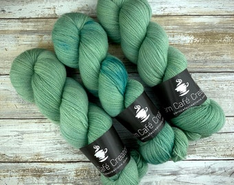 Lagoon | Non Superwash Lace Weight | Hand Dyed Yarn |