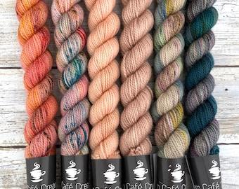 Autumn Harvest Set | Merino Wool Blend | Superwash Handyedyarn Yarn |
