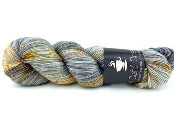 Hand-Dyed Yarn | Merino Wool | Going Gray Collection | Citrus