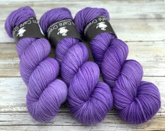 Worsted Weight   Sugared Butterfly Wings   Hand Dyed Yarn   Superwash wool