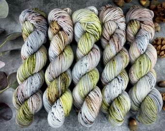 Americano DK Weight | 100% SW Merino Wool | Tumbleweed | Hand Dyed Yarn | Superwash wool