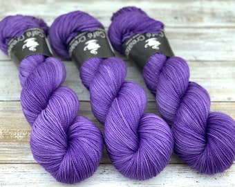 2-ply Fingering Weight | Sugared Butterfly Wings | Hand Dyed Yarn | Superwash Merino Wool