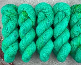 Biscotti DK Weight | 85% SW Merino Wool/15 Nylon | Gummy | Pinkie Pie Collection | Hand Dyed Yarn | Superwash