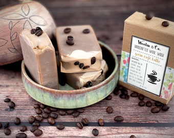 Wool Soap   EXCLUSIVE scent: Yarn Café Latte   Woolin and Co.