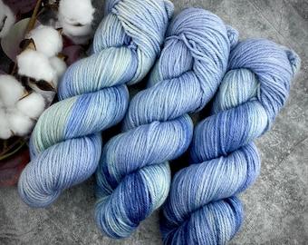 DK Weight   Saltwater   Non-Superwash Merino Wool   Hand-Dyed Yarn