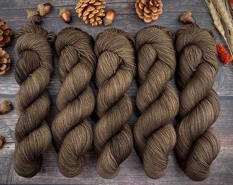 2-ply Fingering Weight | Allspice | Hand Dyed Yarn | Superwash Merino Wool