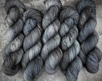 Worsted Weight | After Dark | Hand Dyed Yarn | Superwash