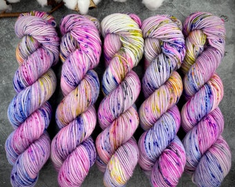 Americano DK Weight | 100% SW Merino Wool | Weather Patrol | Hand Dyed Yarn | Superwash wool
