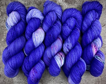 PRE-ORDER Biscotti Sock   85/15 SW Merino/Wool Sock Weight   Nightmare   Hand Dyed Yarn   Superwash wool   Classic Halloween Collection