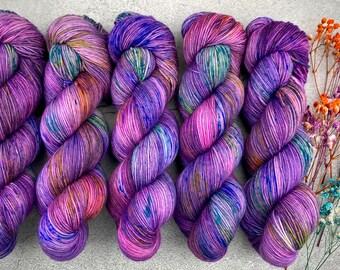 Sport Weight   100% SW Merino Wool   Pinkie Sense   Pinkie Pie Collection   Hand Dyed Yarn   Superwash wool