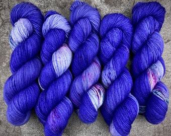 Americano DK Weight   100% SW Merino Wool   Nightmare   Hand Dyed Yarn   Superwash wool