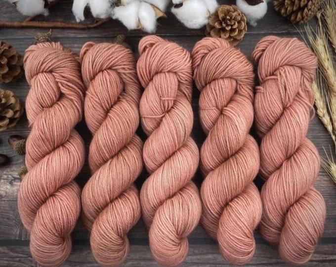 Featured listing image: Espresso Fingering   100% Merino SW Fingering Weight   MANICURE   Hand Dyed Yarn   Superwash wool