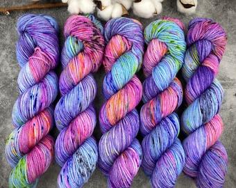 Worsted Weight   Wonderbolts   Hand Dyed Yarn   Superwash wool
