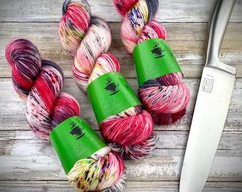 Biscotti DK Weight | 85% SW Merino Wool/15 Nylon | Jigsaw | Hand Dyed Yarn | Superwash