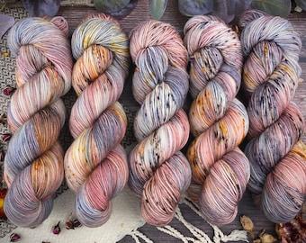 100% Merino SW Fingering Weight | Agate | Hand Dyed Yarn | Superwash wool