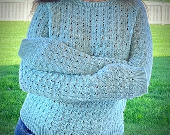 Sizes 10 and 11 | Rhinebeck Reunion Sweater Kit |