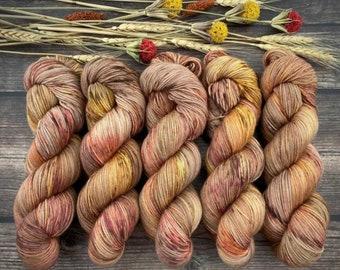100% Merino SW Fingering Weight | Maple | | Hand Dyed Yarn | Superwash wool
