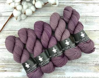 DK Weight   Fig   Non-Superwash Merino Wool   Hand-Dyed Yarn