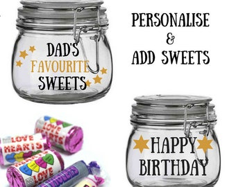 Personalised Gift For Dad Birthday From Son Present Custom