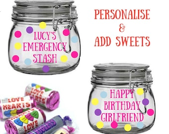 Personalised Gift Girlfriend Present For Birthday