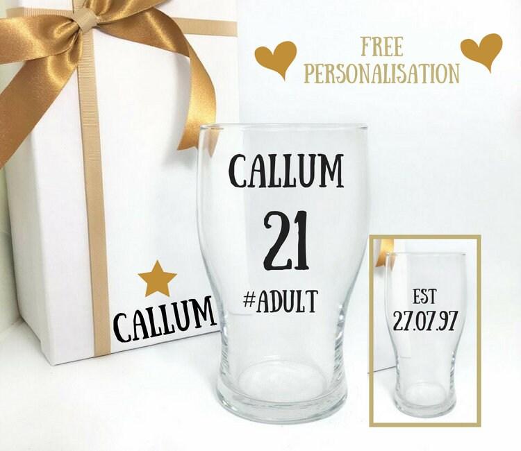 21st Birthday Gift For Him Twenty First Birthday Ideas For