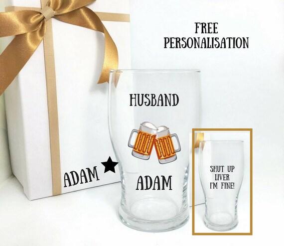 Husband Birthday Gift Beer Personalised Custom