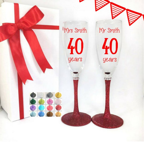 Ruby Wedding Gifts For Parents: 40th Wedding Anniversary Gifts For Parents Ruby Wedding
