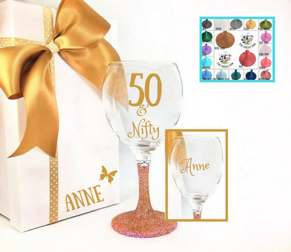 Personalised 50th Birthday Gifts For Mum Womens
