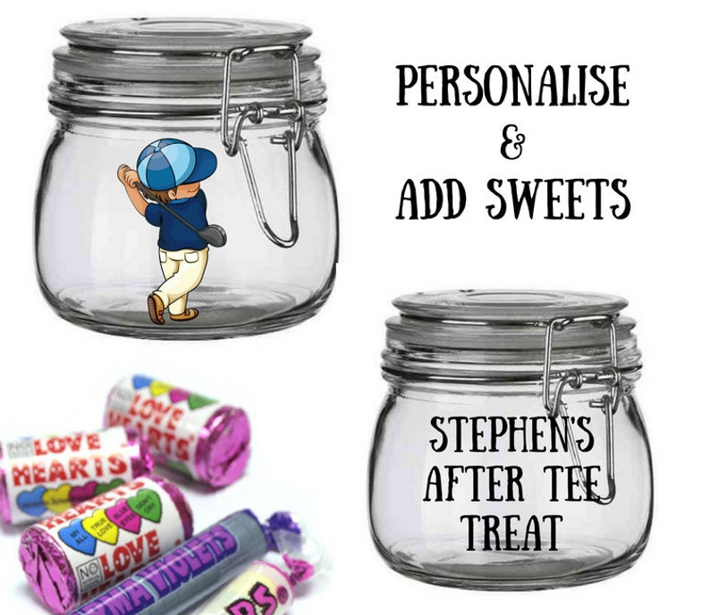 Personalised Golf Gift Birthday Gifts For