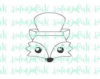 Dapper Fox Cookie Cutter