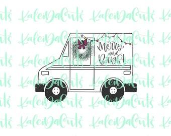 Mail Truck Cookie Cutter