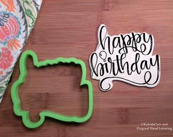 Happy Birthday Cookie Cutter
