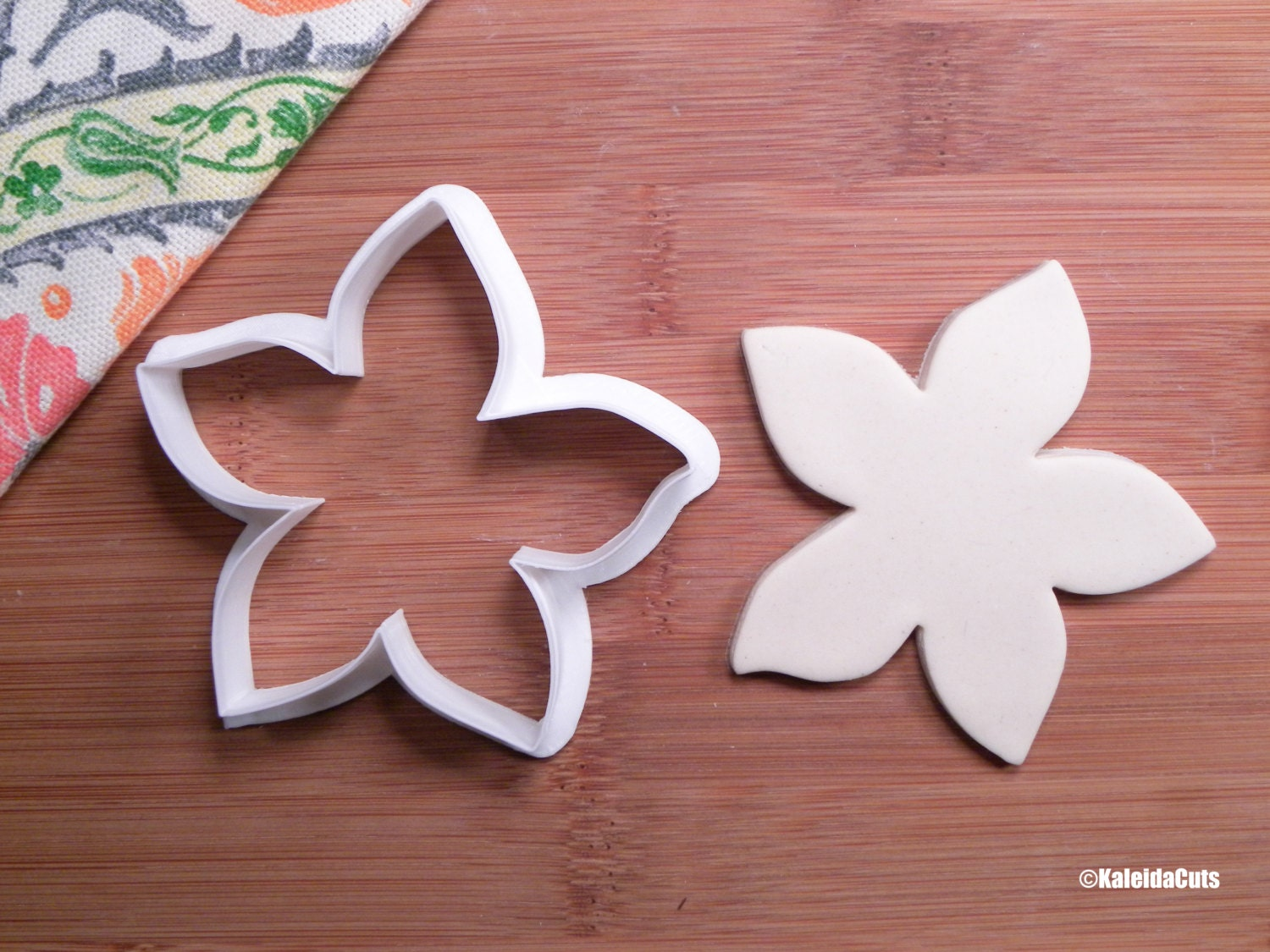 Hibiscus Flower Cookie Cutter Etsy
