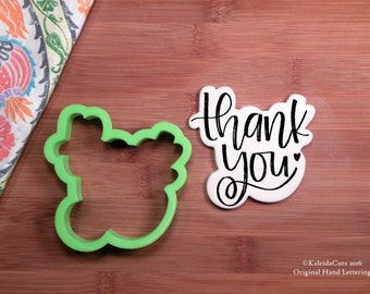 Thank You Cookie Cutter